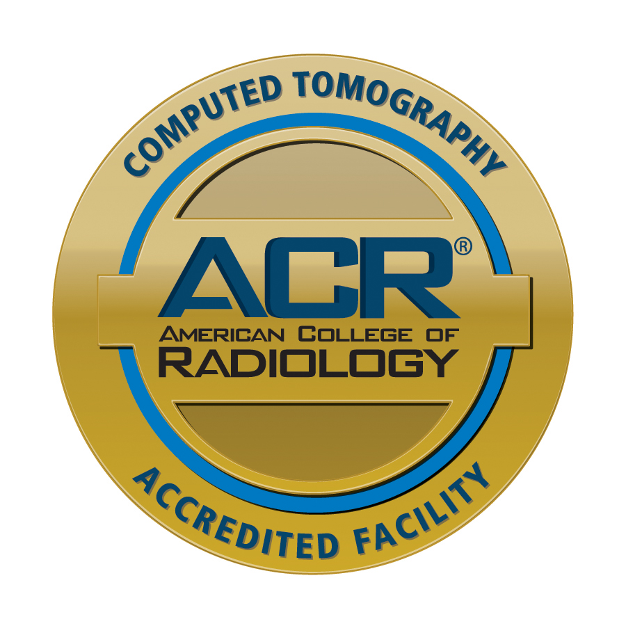 Computer Tomography Accredited Facility