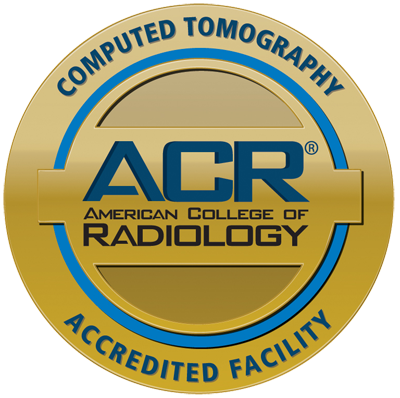 Computed Tomography Accreditation Seal